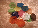 Lip Balm Pot, Sea Shell Multicolors